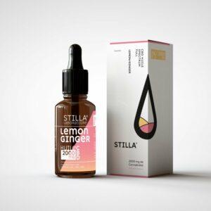 Huile CBD 20% Lemon/Ginger